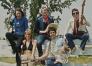Denny LaineGeoff BrittonJimmy McCullochLinda PaulNashville 1974